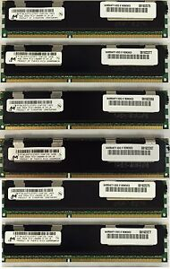 24GB KIT (6X4GB) Memory RAM  For HP Workstation Z800 & Z600 C2 Revision Only