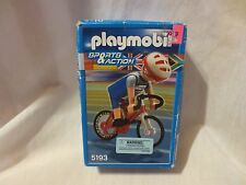 Playmobil  5193 BICYCLE MAN IN OLYMPIC GAMES NEW SEALED !