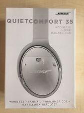 Bose QuietComfort 35 Headband Wireless Headphones - Silver Noise Cancelling