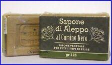SAPONE DI ALEPPO con Olio di Oliva e CUMINO NERO    Acne...Psoriasi...