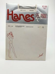 New Old Stock Vintage Hanes Classic Colors Pewter Size A-B