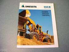 Dressta 555B Wheel Loader Brochure