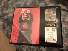 DDP WCW WWE Frame Plaque Rare Wrestlemania ECW Figures Toy Co Wrestler Legend LU