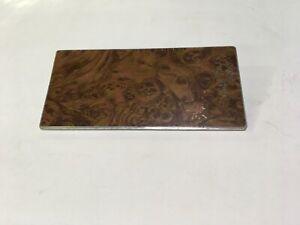 77 Ford Granada Radio Delete Plate woodgrain cover D6DB-6604371-AA #2