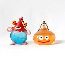 Square Enix SQEX Toys Dragon Quest Crystal Monsters Orange Slime Set Keychain