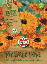 BIO Ringelblume - Calendula officinales, für Beet & Kübel, Samen, 86412