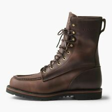 New Mens Filson Uplander Boots Bird Hunting Sz 10 EE Made USA Brown Leather Deer