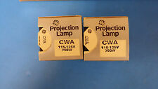 (1 PC) CWA 115-125V 750 W PROJECTION LAMP BY GE
