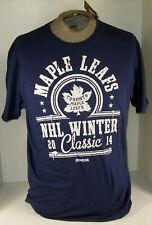 2014 Winter Classic Reebok Nhl Maple Leafs Hockey Adult Roster T-Shirt