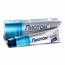 Lioton 1000, gel 1000 u / g, 100 g