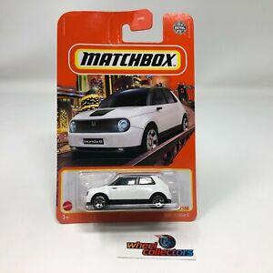 2020 Honda E * White * 2021 Matchbox Case W * G36