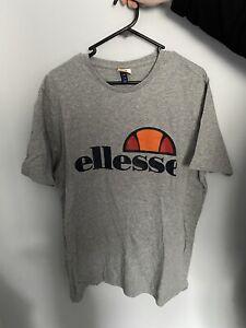 Ellesse T Shirt Grey Mens (Size - XL)