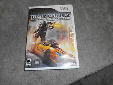 WII -- Transformers: Dark of the Moon -- Stealth Force Edition -  COMPLETE