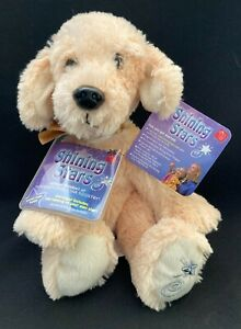 "Russ SHINING STARS PLUSH 10"" YELLOW LAB DOG STUFFED ANIMAL NWT"