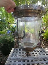 Antique Gothic Dragon Bronze Bell Jar Lantern Chandelier Shade Only