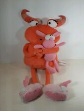 FAO Schwarz Not So Scary Monster Plush Toy Official Merchandise Pink Monster...