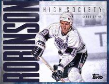 HIGH SOCIETY LARRY ROBINSON Topps NHL Skate Digital Card