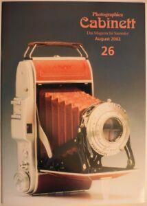 Photographica Cabinett 26 Contax Adox Lipca Praktiflex Finetta 3x4 Bolsey Box