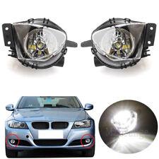 LED 2X For 2006-2008 BMW E90 325i 328i 330i 335i Front Bumper Fog Light Lamps
