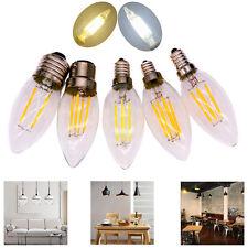 C35 COB LED Bombilla de luz de la vela E12 E27 E14 2W/4W/6W Lámpara Puntual de Filamento Retro 220V