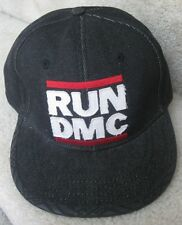 2007 RUN--DMC Baseball Hat Cap XXL 7 5/8 Black Denim
