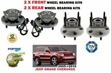 FOR JEEP GRAND CHEROKEE 2005-2010 NEW 2X FRONT + 2X REAR WHEEL BEARING KITS SETS
