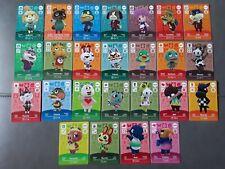 Animal Crossing Amiibo Cards Series 1,2,3,4