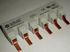 ELECTRICAL ALLEN BRADLEY POWER CIRCUIT BREAKER AC BUS BAR 6 POLE 1489-AACL106