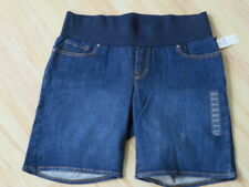 New with Tags Women's Gap 1969 Blue Jean Denim Maternity Shorts Size 31 / 12