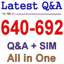 Cisco Best Practice Material For 640-692 Exam Q&A PDF+SIM