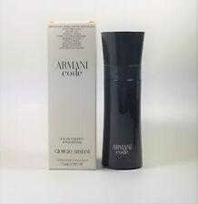 Armani Code by Giorgio Armani Edt Men 2.5 oz - 75 ml *New In Tst Box*