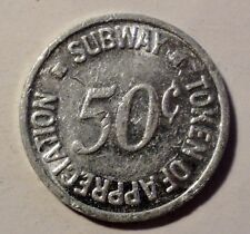 50c SUBWAY Sandwich - Token
