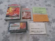 >> ADVANCED DUNGEONS DRAGONS HEROES OF THE LANCE NES FAMICOM JAPAN IMPORT CIB <<