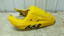 98 Laverda ZLV 650 SP 668 ZLV650 rear back fender cover cowl fairing rear seat