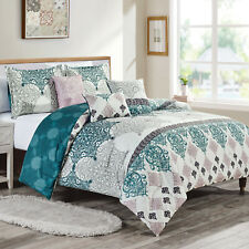 6Pcs Luxury Printed Soft Microfiber Comforter Set Bed In A Bag,Queen ,Cody