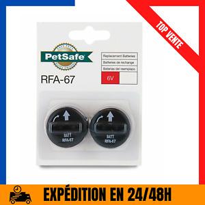 Lot De 2 Piles RFA-67 (6V) Collier De Dressage Anti-Aboiement Pour Chien Neuf FR