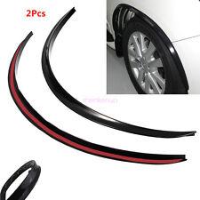 2 Pcs Car Fender Flare Wheel Eyebrow Sticker Body Kit Decor Anti-Scratch Strips