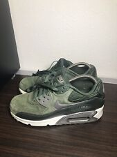 Nike Air Max 90 Leather Carbon Green Womens 768887-301 Size 8 EUC