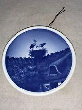 Stork Mini Plate Royal Copenhagen 49/2010 Denmark Fajance Storkerede Collector