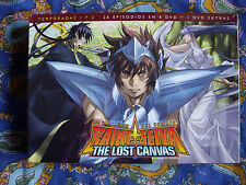 DVD - Anime - Saint Seiya The Lost Canvas -  Temporada 1 y 2 - Nueva - Extras