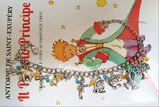 Bracciale IL PICCOLO PRINCIPE le petit prince libro book stelle anime Rosa volpe