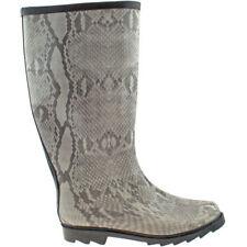 Botas de mujer sin marca de piel color principal gris