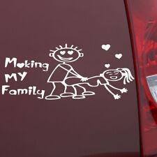 1x My Family Funny Vinyl Decal Sticker Auto Window Decal Sticker Accessories dj