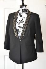 DEBENHAMS womens black evening party  formal  jacket size 14