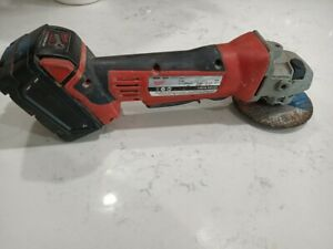 Milwaukee Cordless Angle Grinder W/Battery
