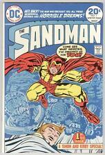 Sandman #1 Winter 1974 Vf Jack Kirby art