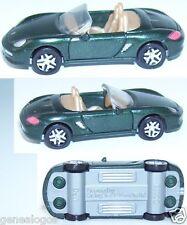 RARE MPG FERRERO HO 1/87 PORSCHE BOXSTER CABRIO 1997 VERT FONCE NEUF