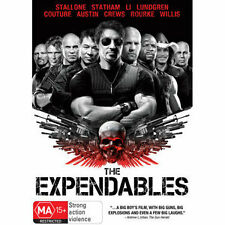 THE EXPENDABLES - BRAND NEW & SEALED DVD (STALLONE, STATHAM, LUNDGREN, WILLIS)