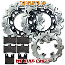 Yamaha Front + Rear Race Proven Brake Disc Rotor + Pads YZF R1 (1998-2001)