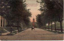 AR   LITTLE ROCK   Center Street looking South  1908 postcard